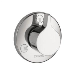 Chrome Diverter Trim S/E Trio/Quattro Product Image