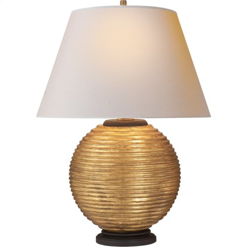 Visual Comfort AH3105GW-NP Alexa Hampton Hugo 26 inch 150 watt Gilded Wood Decorative Table Lamp Portable Light