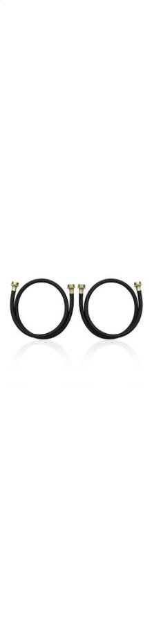 4' Residential Washer Hoses - 2 Pack