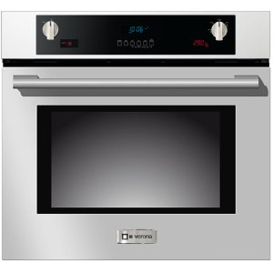 """VeronaStainless Steel 30"""" Electric Self Cleaning Wall Oven"""