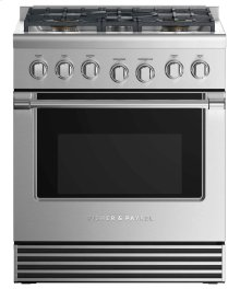 "Dual Fuel Range 30"", 5 Burners"