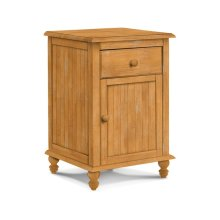 Cottage 1 Drawer Nightstand with 1 Door