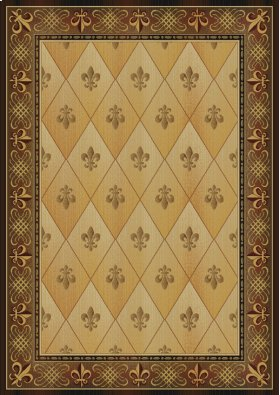 Vantage Collection Chevalier Gold Rugs