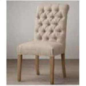 Parkins Cream Upholstered Dining Chair