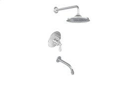 Full Pressure Balancing System - Tub & Shower