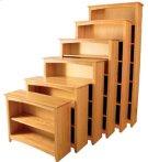 "24"" 30"" 36"" 48"" Alder Shaker Bookcases Product Image"
