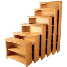 """24"""" 30"""" 36"""" 48"""" Alder Shaker Bookcases"""