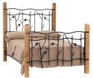 Sassafras Queen Iron Bed Product Image
