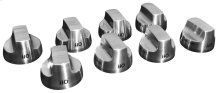 Stainless Steel Knob Kit - 8 pack