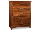 Glengarry 5 Drawer Hiboy Chest Product Image