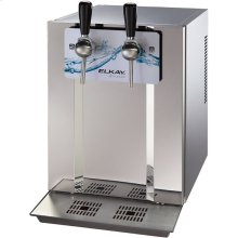Blubar Countertop Water Dispenser 20 GPH Filtered Stainless Steel