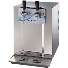 Blubar Countertop Water Dispenser 20 GPH Filtered Stainless Steel
