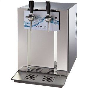 Blubar Countertop Water Dispenser 20 GPH Filtered Stainless Steel Product Image