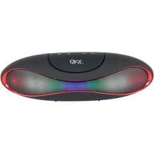Bluetooth Speaker With Microphone and Disco Light