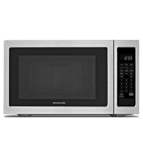 KitchenAid® 1200-Watt Countertop Microwave Oven, Architect® Series II - Black