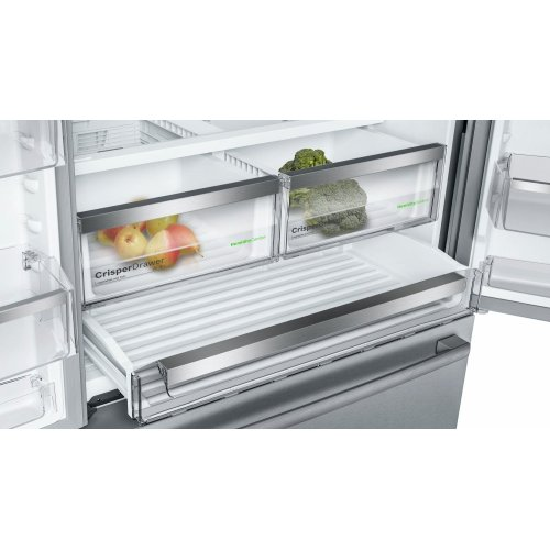 800 Series French Door Bottom Mount Refrigerator Black