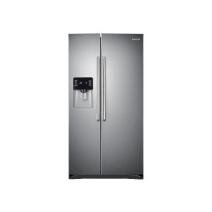Samsung25 cu. ft. Side-by-Side Refrigerator with CoolSelect Zone in Stainless Steel