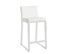 Architect Counter Stool - White