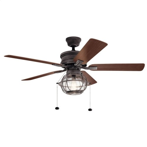 "Tess 52"" Fan Weathered Zinc"