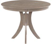 "Siena 48"" Pedestal Table w/ 36"" Base Taupe Gray"