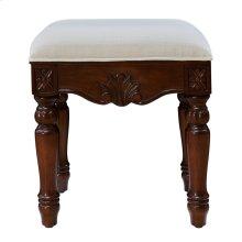 16 inch Dressing stool Teak color
