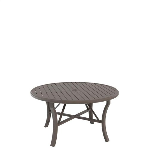 "Banchetto 54"" Round KD Dining Umbrella Table"
