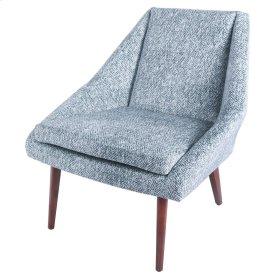 Enzo KD Fabric Accent Chair, Quiver Indigo Blue