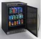 Beverage Cooler with Glass Door Product Image