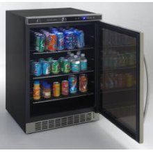 Beverage Cooler with Glass Door