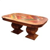 Madera 6ft Feather Dining Table