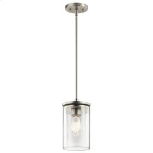 Crosby Collection Crosby 1 Light Mini Pendant NI
