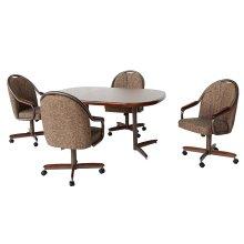 Chair Base (walnut & bronze)