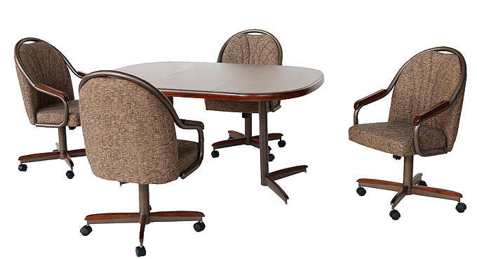 Beau ... Douglas Casual Living CD324NW. Table Top: Square Round (walnut)