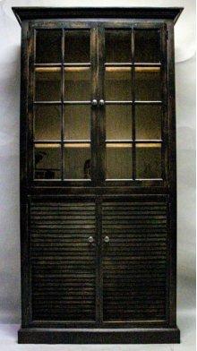 """#609 Nantucket 2 Door Cupboard 40""""wx13.75""""dx78""""h"""