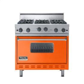 "Pumpkin 36"" Open Burner Range - VGIC (36"" wide, six burners)"