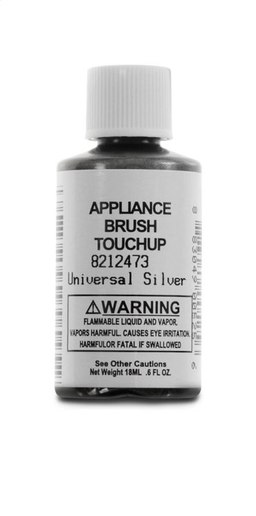 Silver Appliance Touchup Paint