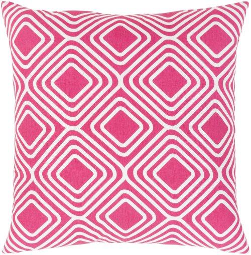 "Miranda MRA-006 18"" x 18"" Pillow Shell with Polyester Insert"