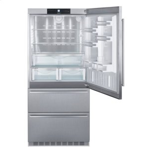 "Liebherr  36"" Fridge-freezer with NoFrost"