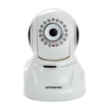 Polaroid Wireless Network Surveillance Camera IP300W with remote control movement, 2-way intercom and advanced filter lens