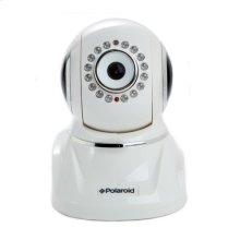 Polaroid Wireless Network Surveillance Camera IP300W with remote control movement, 2-way intercom and advanced filter lens