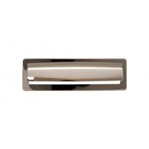 Hollin Cup Pull 5 1/16 Inch - Polished Nickel