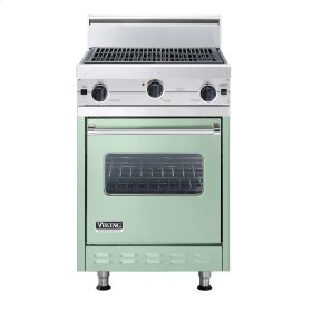 "Sage 24"" Char-Grill Companion Range - VGIC (24"" wide range with char-grill, single oven)"