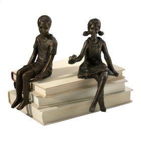 Boy Shelf Figurine