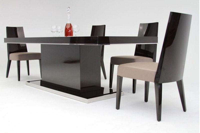 Hidden Additional Modrest Le Modern Lacquer Dining Table