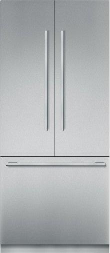 36-Inch Built-in Stainless Steel Masterpiece®French Door Bottom Freezer