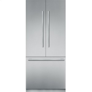 Thermador36-Inch Built-in Stainless Steel Masterpiece®French Door Bottom Freezer