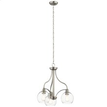 Harmony Collection Harmony 3 Light Chandelier NI