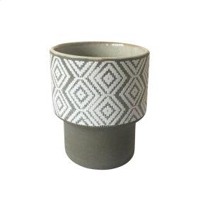 """Ceramic 5.75"""" Planter Beige"""