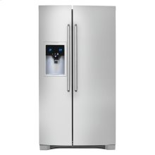 Counter-Depth Side-By-Side Refrigerator with Wave-Touch® Controls