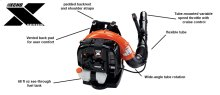 ECHO PB-770T Powerful Tube-Mounted Throttle Backpack Leaf Blower